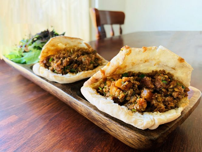 Lockdown Recipe Series: Pork Belly Pitas